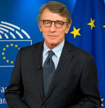 David Sassoli, presidente dell'Europarlamento, ha partecipato alla commemorazione