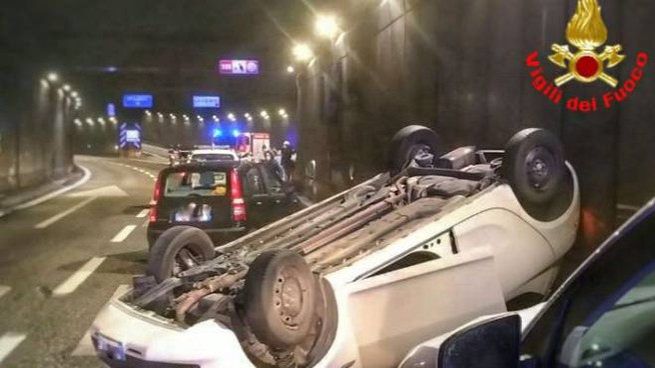 Incidente a Lecco, lungo la Super36