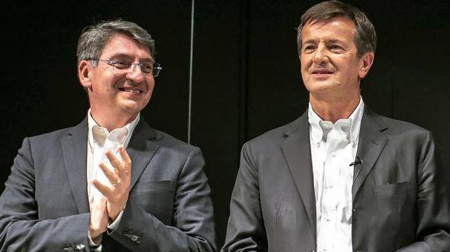 Emilio Del Bono e Giorgio Gori: primi cittadini di Brescia e Bergamo