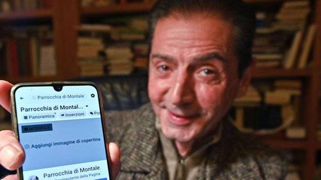 Don Paolo Firindelli, parroco di Montale