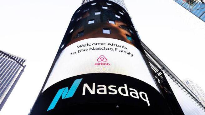 Benvenuto Airbnb nella famiglia nasdaq (Ansa)