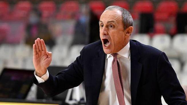 Ettore Messina, coach dell'A|X Armani Exchange Milano (Ciamillo-Castoria)