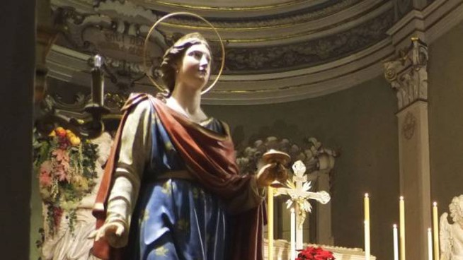 Santa Lucia, protettrice degli occhi