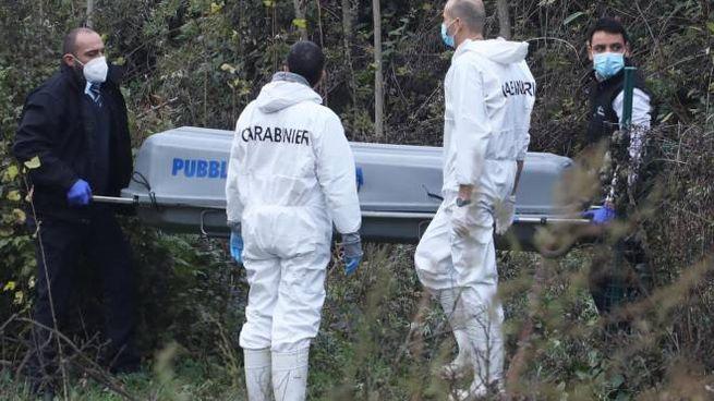 Trovata una quarta valigia nella zona di Firenze, tra il carcere e la Fi-Pi-Li, dove erano state ritrovate le prime tre con resti umani, di un uomo e di una donna, nei giorni scorsi, 16 dicembre 2020. ANSA/CLAUDIO GIOVANNINI