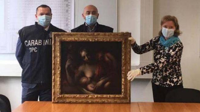 Il dipinto rubato recuperato dopo 45 anni