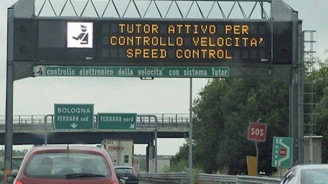 Il Tutor su 1.400 chilometri di autostrade