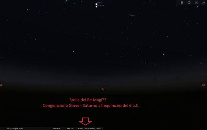 Giove e Saturno congiuntamente il 21 dicembre. È la stella di Natale