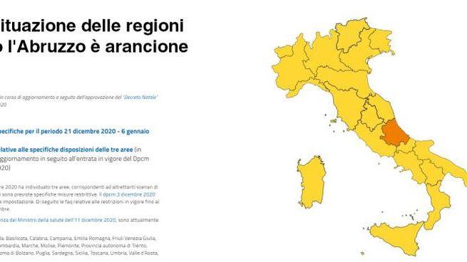 La situazione delle regioni