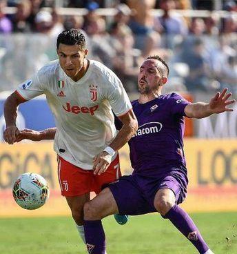 Cristiano Ronaldo, 35 anni, e Frank Ribery (37) nella gara della scorsa annata: finì 0-0