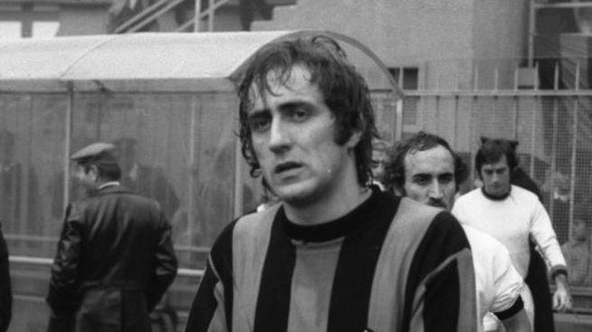 Mauro Bellugi con la maglia dell'Inter