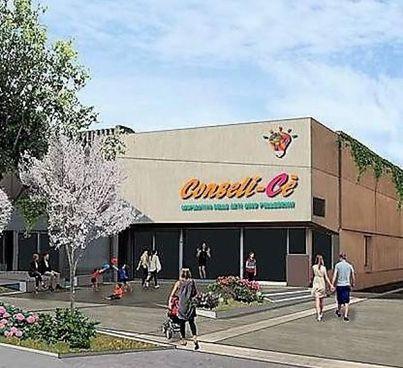 Ecco come sarà il nuovo centro civico nell'edificio che ospitava la Coop