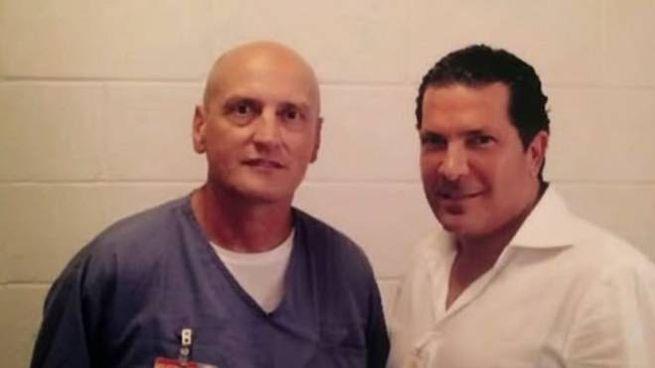 Chico Forti con l'avvocato Joe Tacopina