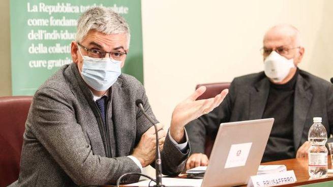Silvio Brusaferro e Gianni Rezza (ImagoE)