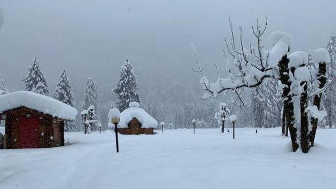 Previsioni meteo, neve in arrivo in molte zone del Nord Italia (Ansa)