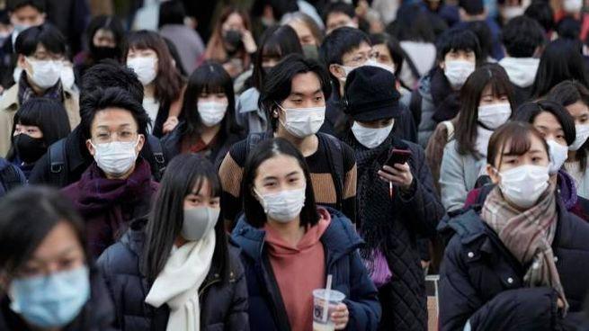 Tokyo, aumentano i casi giornalieri (Ansa)