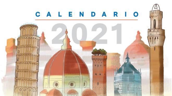 Calendario Bizantino 2021 Oggi, sabato 2 gennaio, in regalo il calendario de La Nazione
