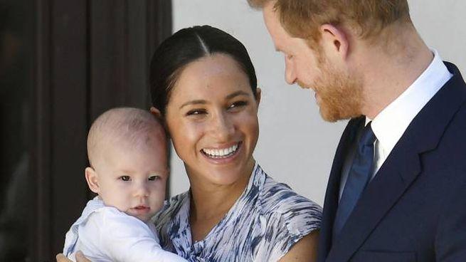 Harry, Meghan e il piccolo Archie