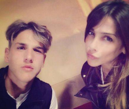 Nicolò Zaniolo, 21 anni, e. la madre Francesca (43): il papà Igor è un ex dello Spezia