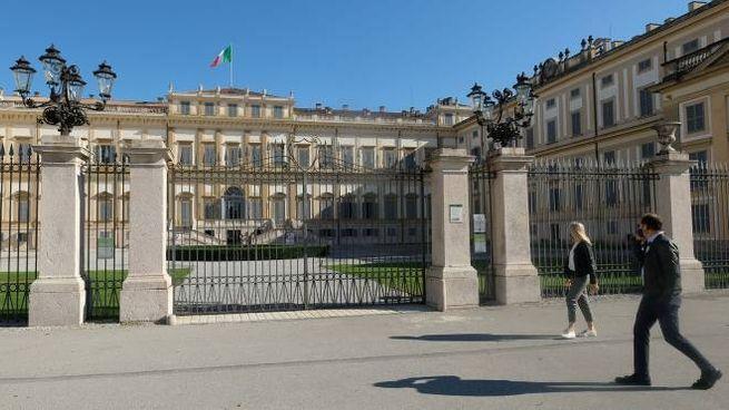 L'ingresso della Villa Reale di Monza