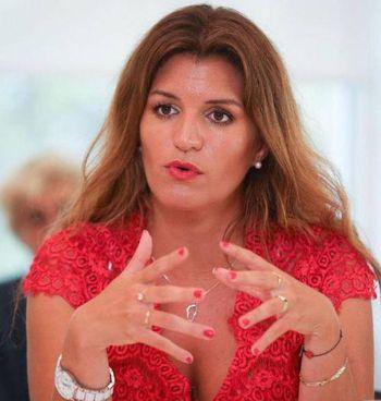 Marlène Schiappa, 38 anni, esponente del partito di Macron e ministro della Cittadinanza