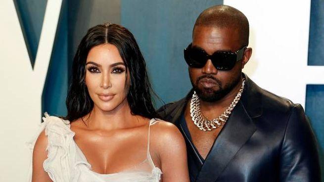 Kim Kardashian e Kanye West verso il divorzio (Ansa)