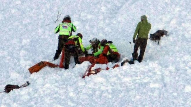 Soccorsi sulle piste da sci (Orlandi)