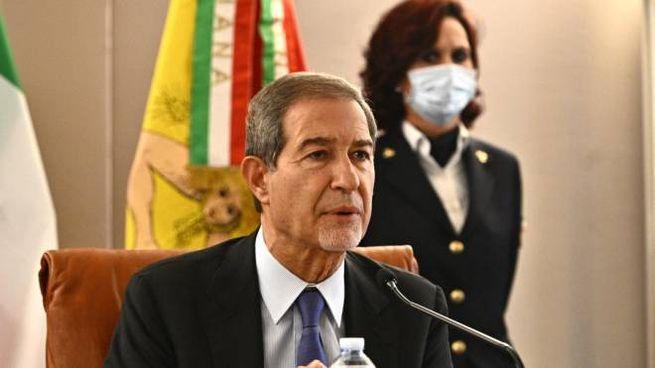 Il presidente della Regione Sicilia, Nello Musumeci (Ansa)