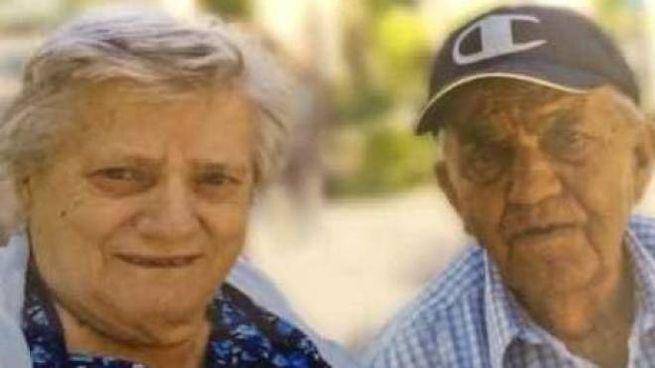 Italia Bramucci, 85 anni, e Vincenzo Giovinazzo, 90