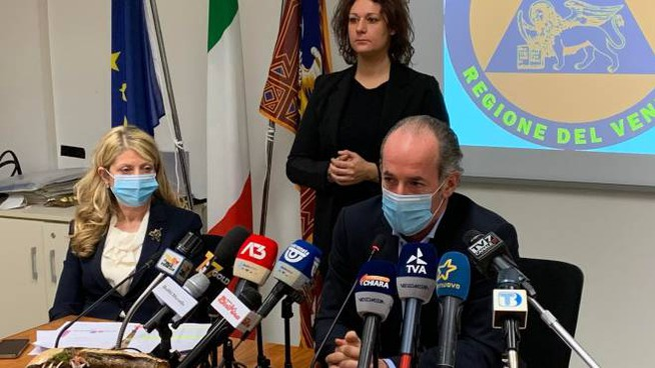 Luca Zaia, presidente della Regione Veneto (Ansa)