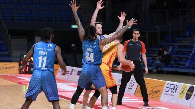 Carpegna Prosciutto Basket Pesaro - Germani Basket Brescia (foto Ciamillo)