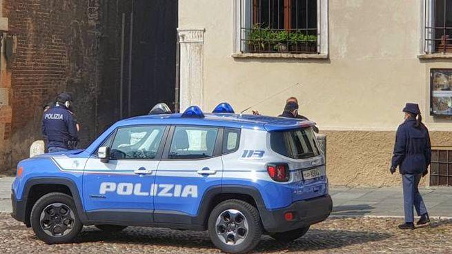 Polizia a Mantova