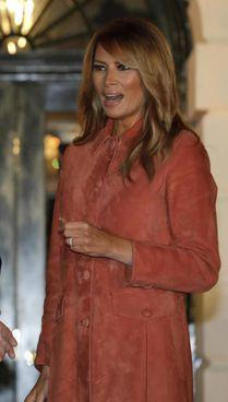 La first lady Melania Trump, 50 anni: ha sposato Donald Trump nel 2005