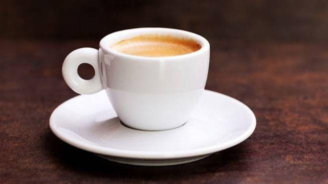 Una tazzina di caffé espresso
