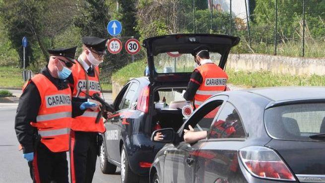 I controlli anti covid dei carabinieri