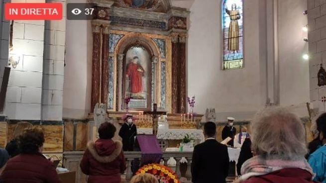 Un momento della Messa al Giglio (da Giglionews)
