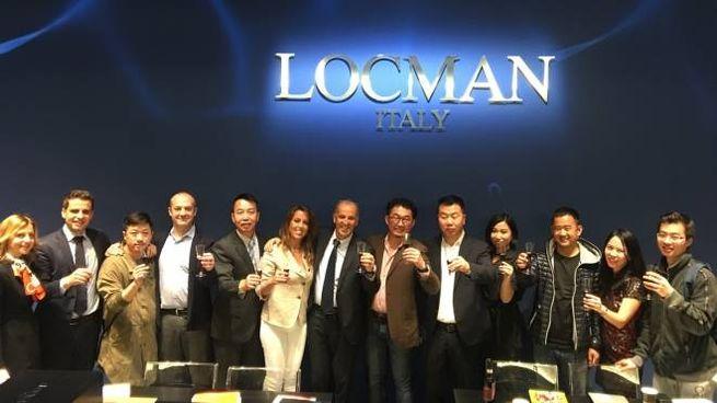 La delegazione elbana in Giappone, con il presidente di Locman Marco Mantovani