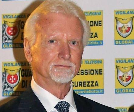 L'avvocato Francesco Bizzarri, fondatore 20 anni fa del Corpo Guardie di Città