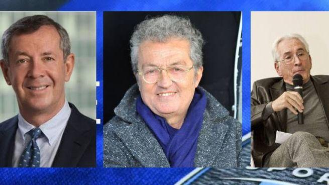 Alexander Knaster, Giuseppe Corrado ed Enzo Ricci