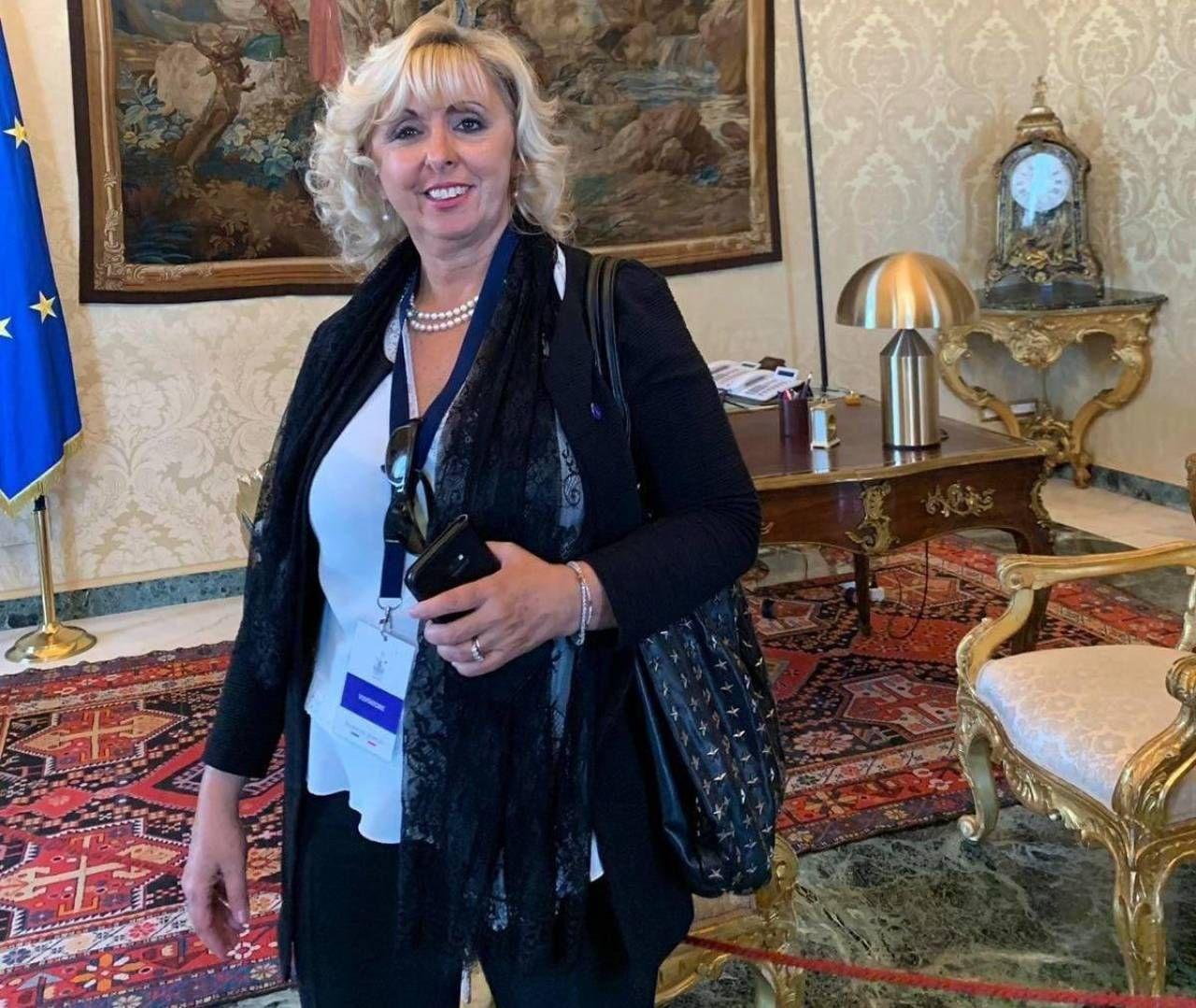 Michela Rosetta, 53 anni, sindaco di San Germano Vercellese