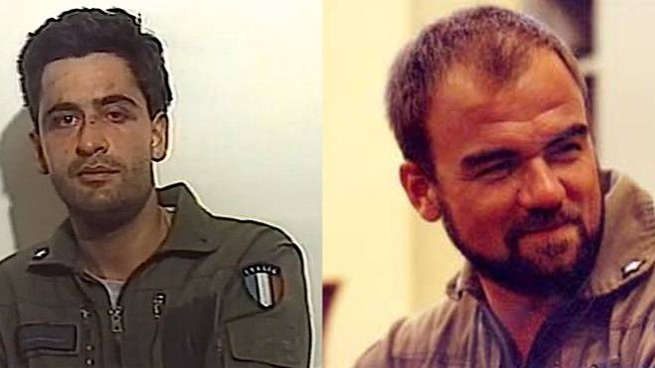 Maurizio Cocciolone e Gianmarco Bellini ai tempi della guerra del Golfo