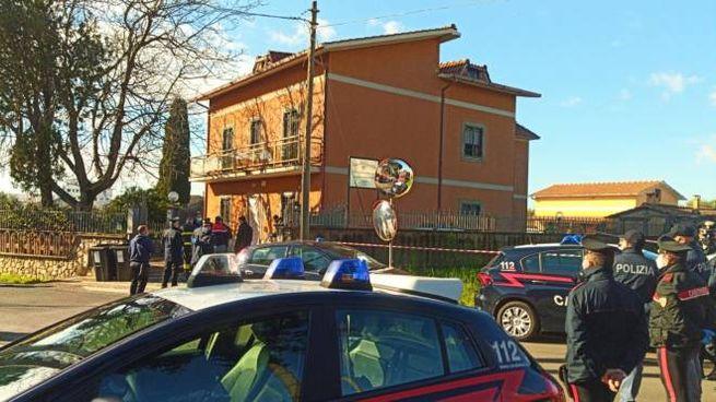 La casa di riposo a Lanuvio dove sono morti 5 ospiti (Ansa)