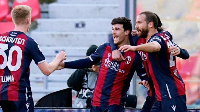 Riccardo Orsolini: gol al Verona (Ansa)