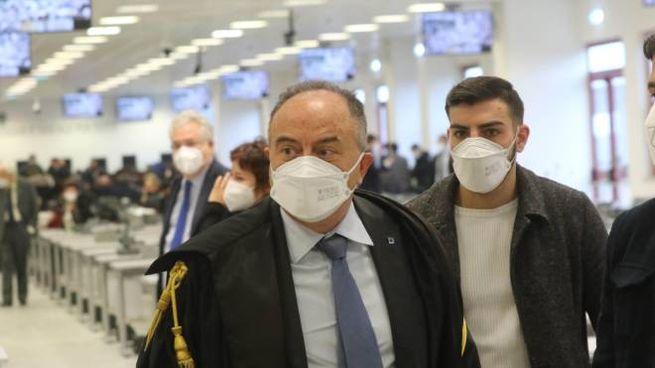 """Il procuratore Nicola Gratteri durante il maxi processo """"Rinascita Scott"""""""