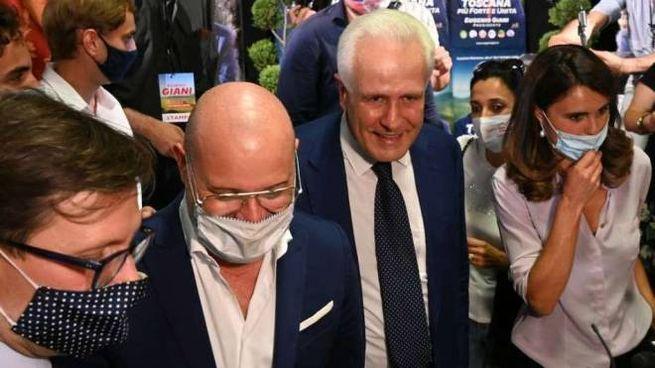 Il sindaco Nardella, il presidente emiliano Bonaccini, Giani e la segretaria dem Bonafè