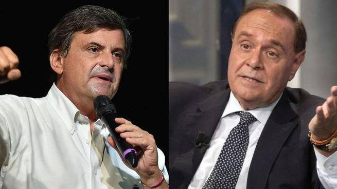 Carlo Calenda e Clemente Mastella (Ansa)