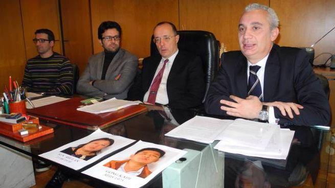 La conferenza stampa in procura a Prato (Attalmi)