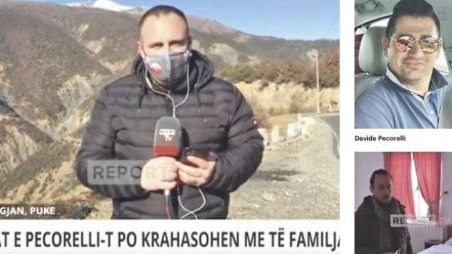I servizi delle Tv albanesi su Pecorelli