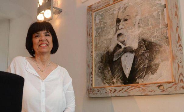 Laila Tentoni, presidente della Fondazione Casa Artusi di Forlimpopoli