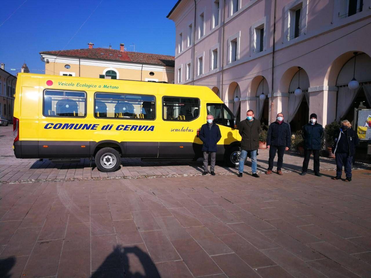 Il bus serve l'unico quartiere cervese senza una propria scuola d'infanzia