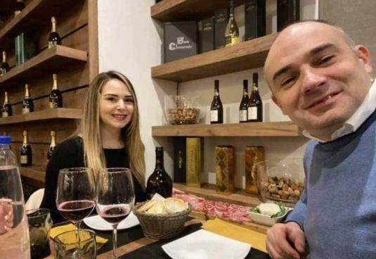 Giorgia Manghi (Fdi) e Gianluca Vinci (Lega) a cena a Maranello domenica sera
